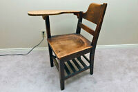 Wooden Writing Chair