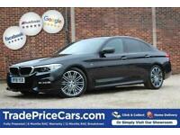 2018 18 BMW 5 SERIES 3.0 530D M SPORT 4D 261 BHP DIESEL