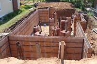 Seeking Concrete wall formers