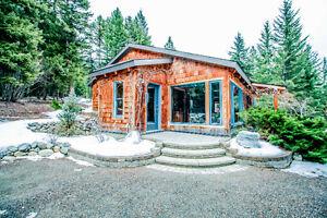 Rare & Inspiring Handcrafted Timber Frame-Hybrid Home