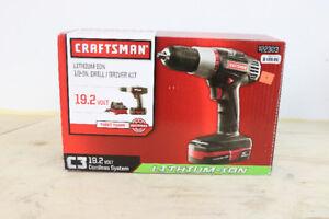 "**PERFORMANCE** Craftsman 1/2"" Drill/Driver Kit, C3"