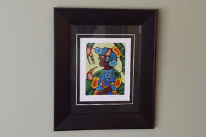 Native Norval Morrisseau BEAUTIFULLY FRAMED Ltd. ed.