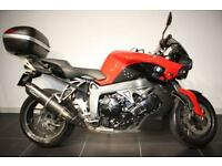 2012 62 BMW K1300R RED/BLACK , GPR EXHAUST, GIVI TOP BOX, BMW PREMIUM PACK!