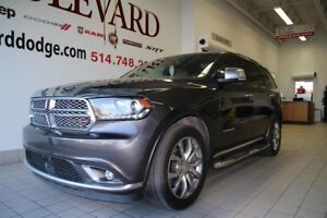 Dodge Durango CITADEL DVD ENSEMBLE TECHNO 2016