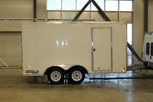Enclosed Cargo Trailer - 7' x 14' - Tandem Axel