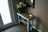 Pallet Wood Sofa/Entry Table