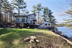 Waterfront Property On Sparrow Lake