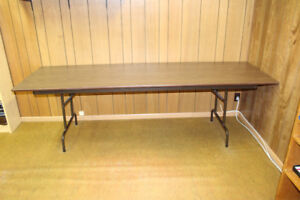 Party Table (Banquet Table) - 8' x 2.5' - $75.00