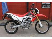 2016 65 HONDA CRF 250 L-F *6MTH WARRANTY, FSH* CRACKING TRAIL BIKE