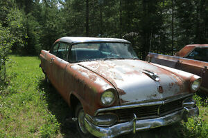 1955-6 Ford Cars for sale Prince George British Columbia image 3