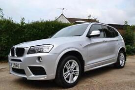 2013 BMW X3 2.0 XDRIVE20D M SPORT AUTO ESTATE DIESEL