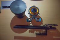 Isco Anamorphic Ultra Blue Star 2x with and Focus module & more