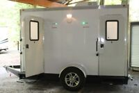 LUXURY PORTABLE RESTROOMS - AIR CONDITIONED UNITS
