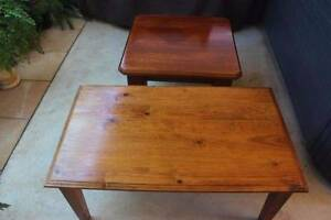 Two Timber Coffee Tables Dubbo Dubbo Area Preview