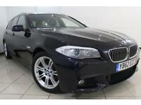 2012 62 BMW 5 SERIES 2.0 520D M SPORT TOURING 5DR 181 BHP DIESEL
