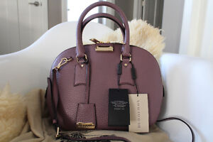 NEW Burberry Orchard leather bag