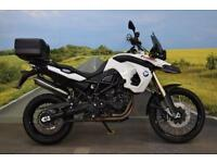 BMW F800 GS **Spotlights, ABS, Panniers, Top Box**