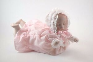 Wind Up Musical Baby Doll Head Moves