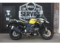 2017 17 SUZUKI DL 1000 V-STROM L8 ABS, YELLOW, LOW MILEAGE EX DEMO BIKE!