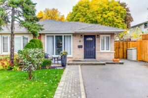Reno'd Streetsville, Mississauga Semi-Detached Home for Rent