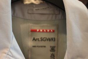 Authentic Men PRADA Tan Jacket Extra Large Rain Sport Coat!!