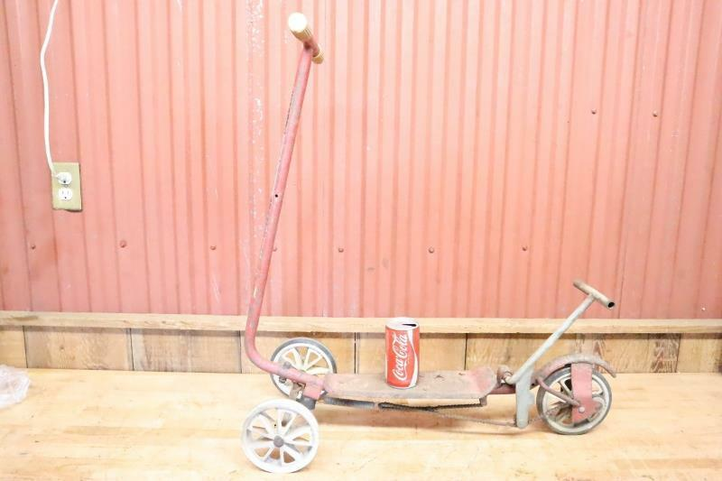 Cool Vintage Honda 3 Wheel Kick n Go Scooter needs restored