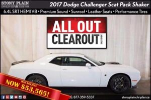 2017 Dodge Challenger Scat Pack Shaker
