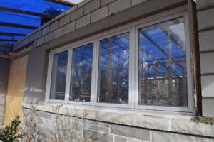 Used Windows  Aluminum - building materials
