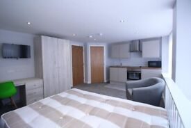 STUDENT ROOMS TO RENT IN DERBY WITH SMALL DOUBLE BED, PRIVATE BATHROOM, PRIVATE ROOM