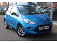 2013 FORD KA 1.2 Studio Connect [Start Stop] GBP30 TAX, ALLOYS and BLUETOOTH