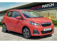 2015 Peugeot 108 ACTIVE TOP Hatchback Petrol Manual