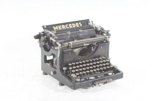 Old Typewriter Vintage Schreibautomat Motor Mercedes
