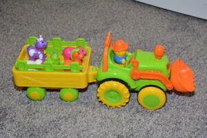Tracteur des animaux