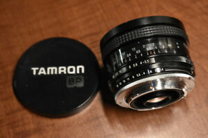Tamron SP Adaptall-II 17mm F/3.5 Ultra Wide Angle Full Fram Lens