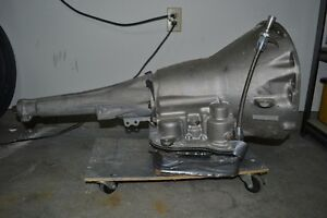 Small Block 727 Transmission with shift kit and torque converter Windsor Region Ontario image 2