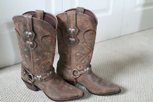 Brand New Leather Cowboy Boots