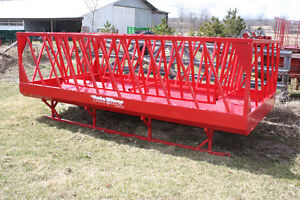 feeders, gates, chutes, crowd pens, panels,  equip for livestock