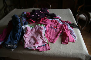 Girls clothes size 18-24 months  39 items Smoke free home