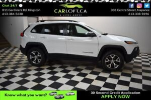 2016 Jeep Cherokee TRAILHAWK-LEATHER*HEATED SEATS*DUAL SUNROOF
