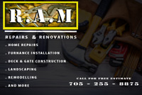 Summer is here! Call R.A.M's and let us do the work for you.