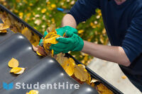 Gutter Cleaning by StudentHire - You set your price!
