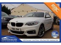 2016 16 BMW 2 SERIES 1.5 218I M SPORT 2D 134 BHP