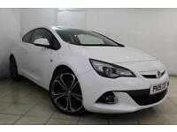 2015 15 VAUXHALL ASTRA 1.4 GTC LIMITED EDITION S/S 3DR 118 BHP