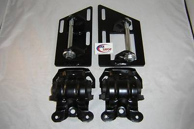 S10 S15 Blazer SBC V8 2 Wheel Drive Swap Motor Mounts with Rubber Frame Mounts, used for sale  Moline