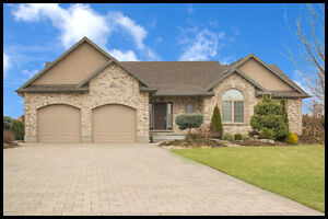 Luxurious Brick Ranch With A Country Setting In Strathroy!