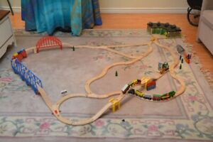 Wooden Trains, Tracks and Accessories