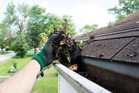 EAVESTROUGH CLEANING/REPAIRS/GUTTER GUARD INSTALLATION