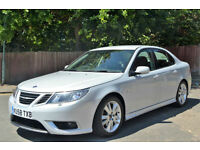 Saab 9-3 1.9TTiD (180ps ) 2008 Aero. 77K MILES, FULL S/HISTORY, JAN MOT, LEATHER