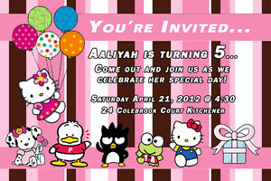 Baby birth announcements, shower invites, baby info pictures Kitchener / Waterloo Kitchener Area image 2