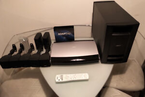 BOSE LIFESTYLE MEDIA CENTER COMPLETE WITH POWERED SUB-WOOFER